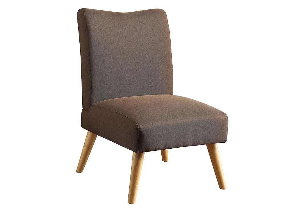 Murcia Brown Accent Chair,Furniture Of America