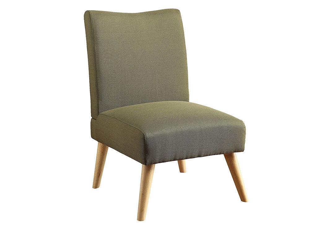 Murcia Green Accent Chair,Furniture Of America