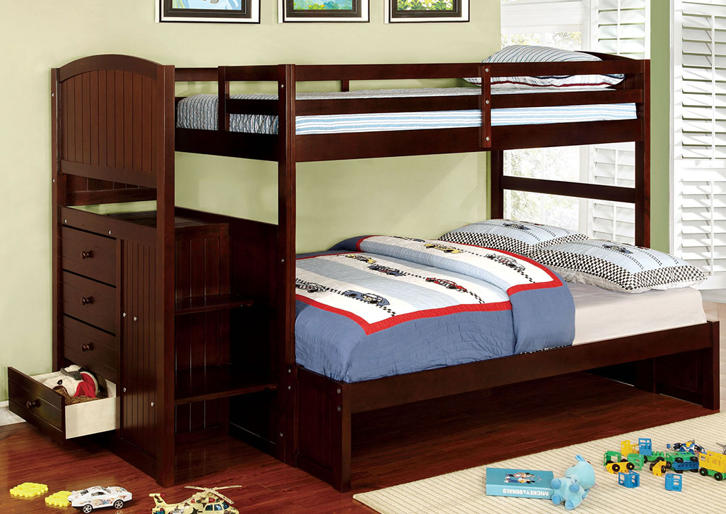 Appenzell Twin/Full Bunk Bed,Furniture of America