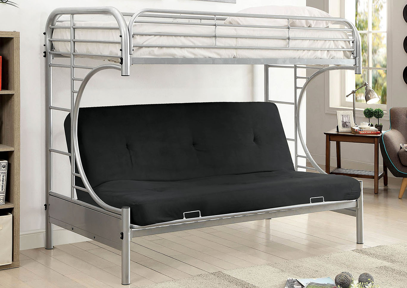 Opal Twin/Twin Bunk Bed,Furniture of America