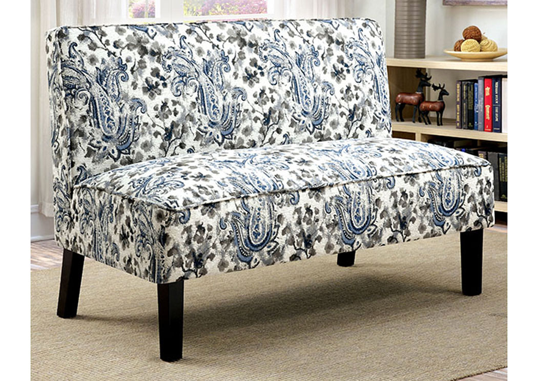 Furniture Fashions Kassie Floral Print Loveseat