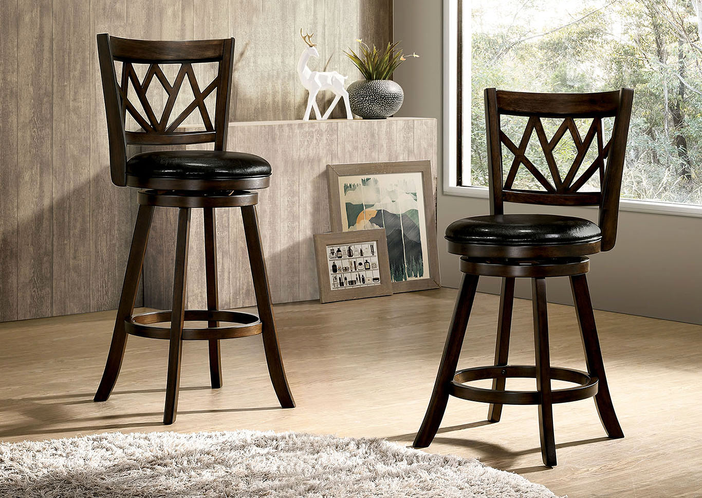 Dfw Furniture Warehouse Ca Tolley Maple 24 Swivel Barstool W