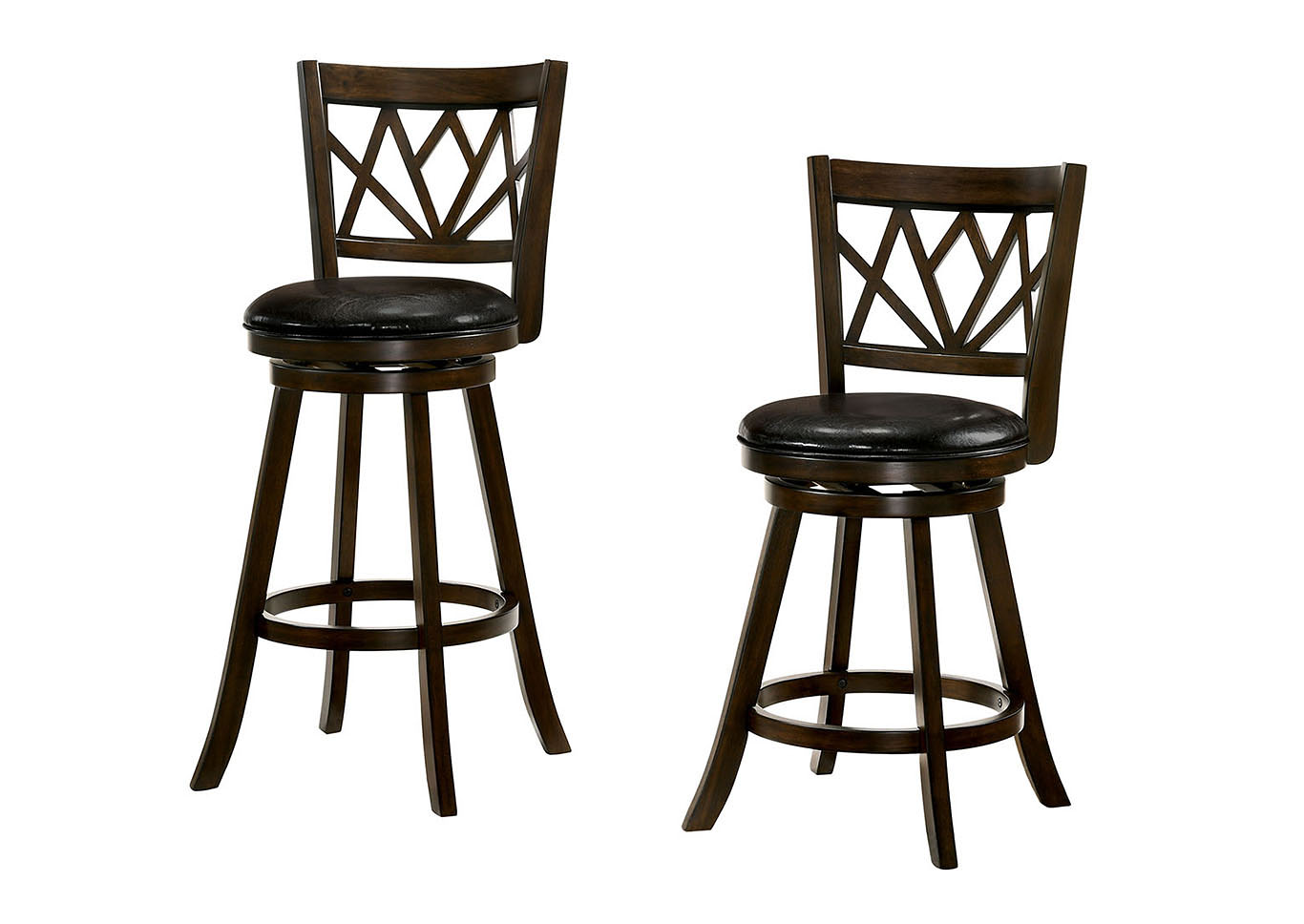 Furniture Ville Bronx Ny Tolley Maple 24 Swivel Barstool Wpadded