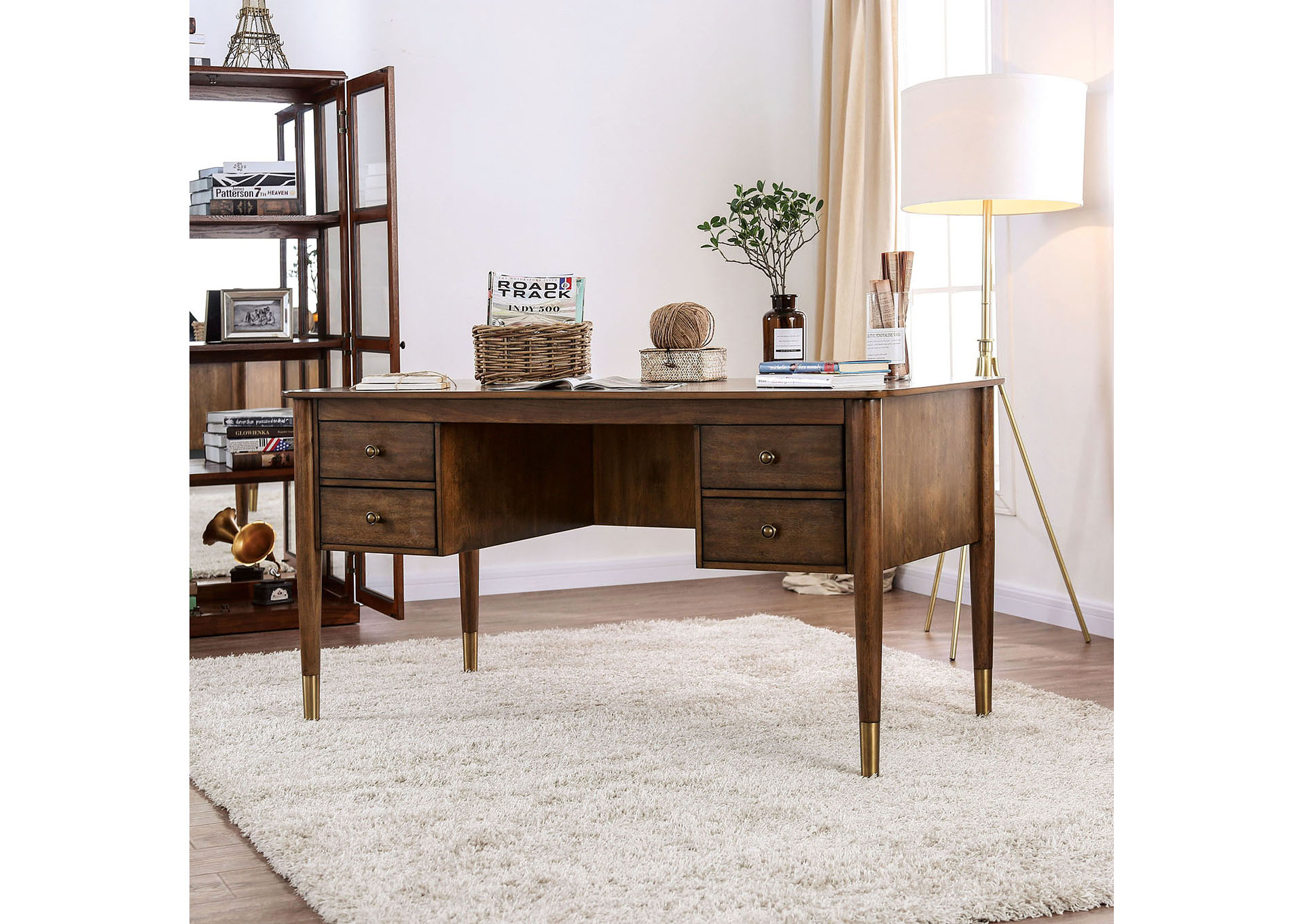 Squan Furniture Reliance Antique Oak Desk