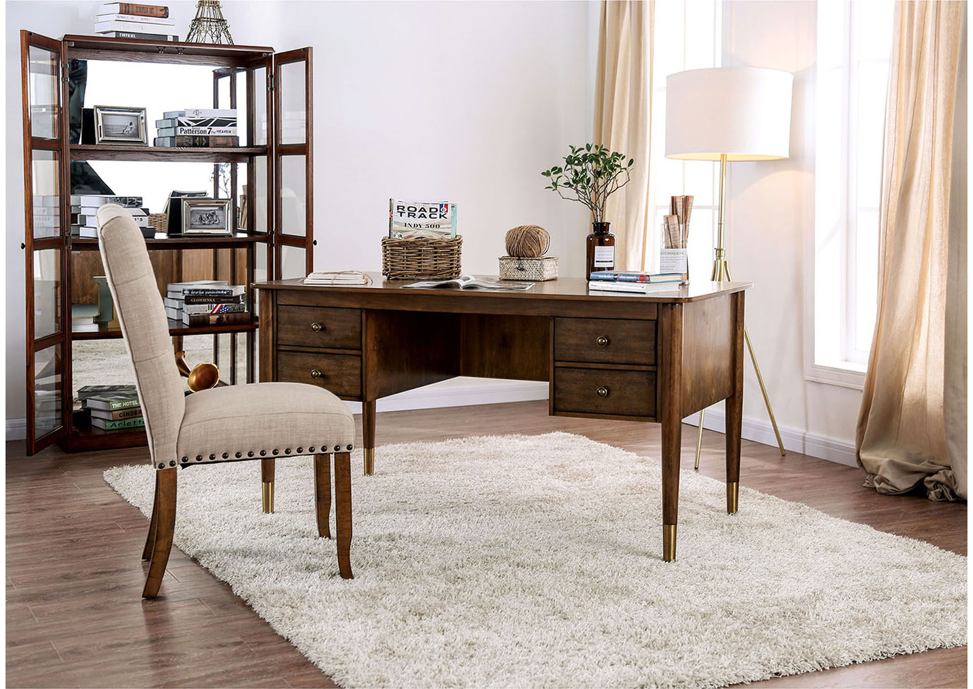 Maddy S Home Reliance Antique Oak Desk