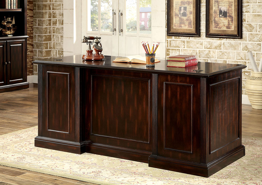 Coolidge Cherry Office Desk,Furniture of America