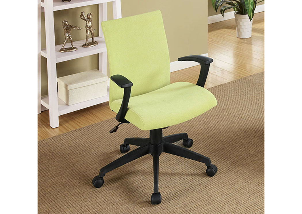 Crofter Green Swivel Office Chair w/Armrests,Furniture of America