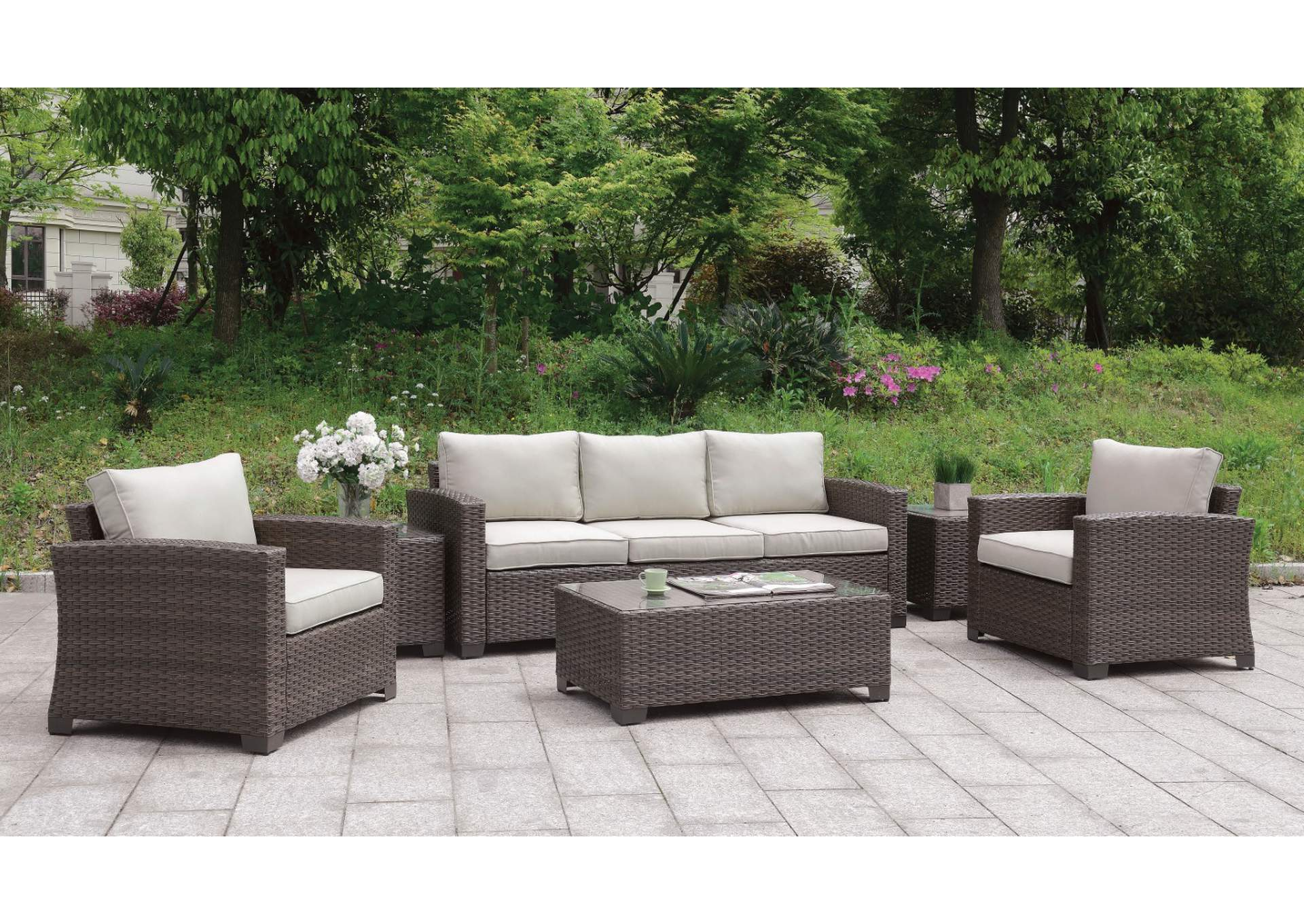 Cape Cod Furniture Brindsmade Brown 6 Piece Patio Set