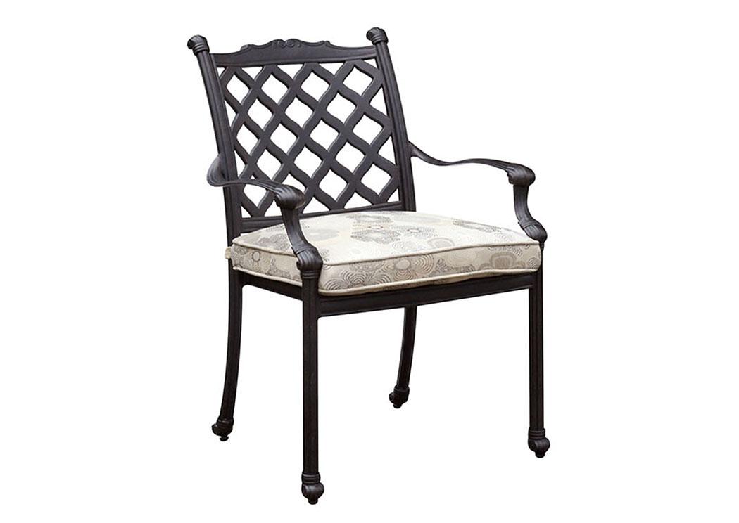 New Home Furniture Brooklyn Ny Chiara Fabric Cushion Arm Chair
