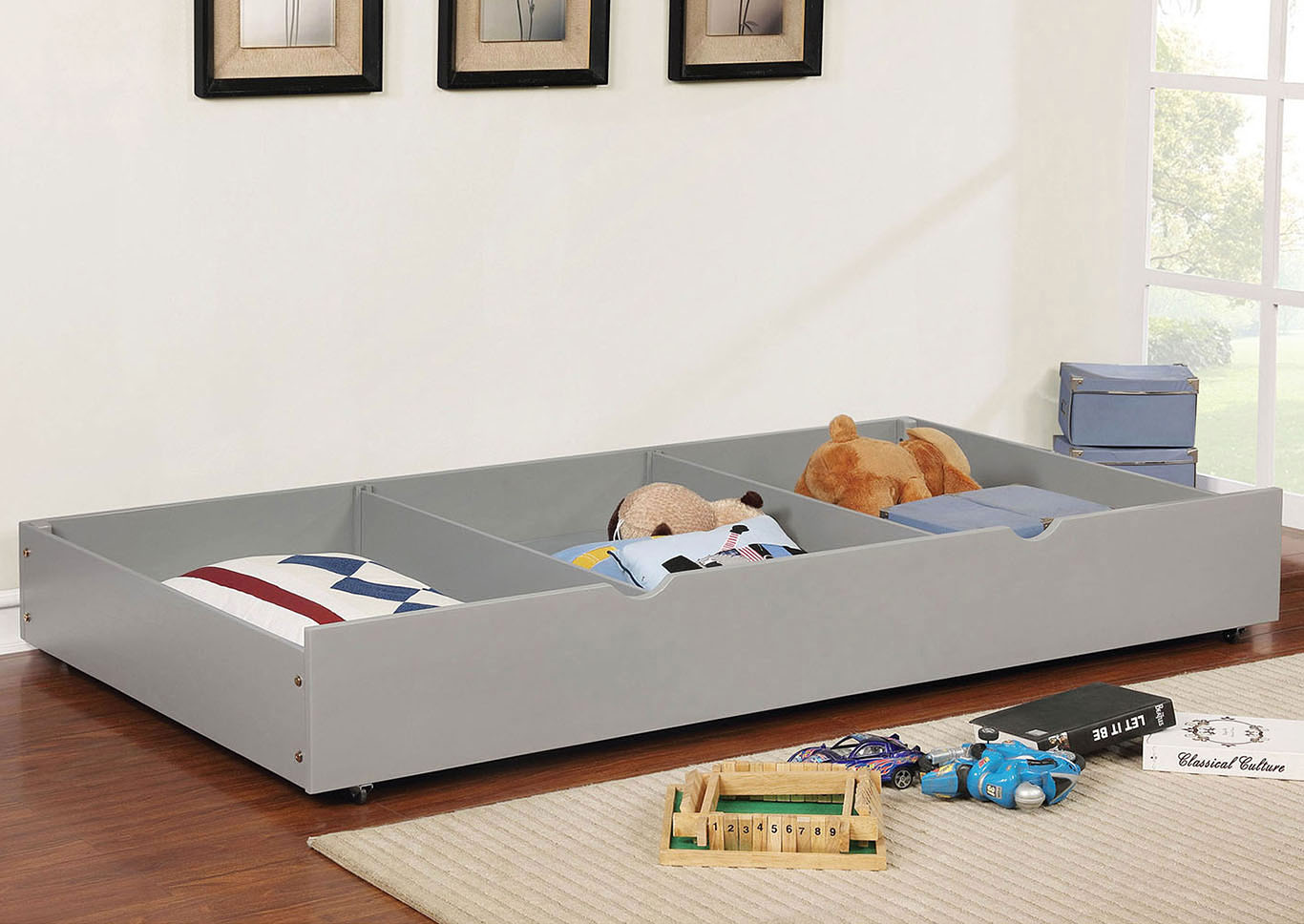 Grano Gray Trundle,Furniture of America