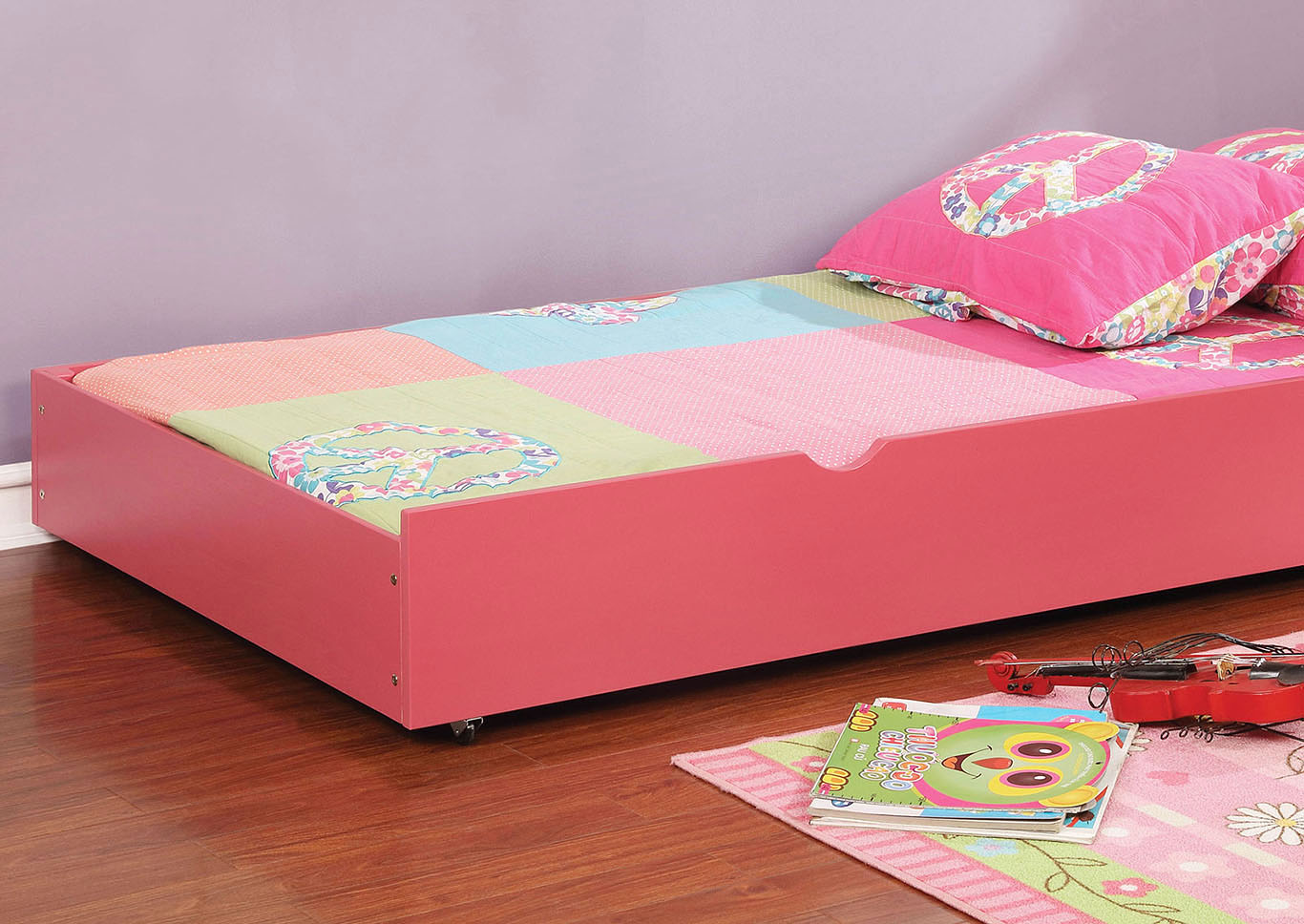 Grano Pink Trundle,Furniture of America