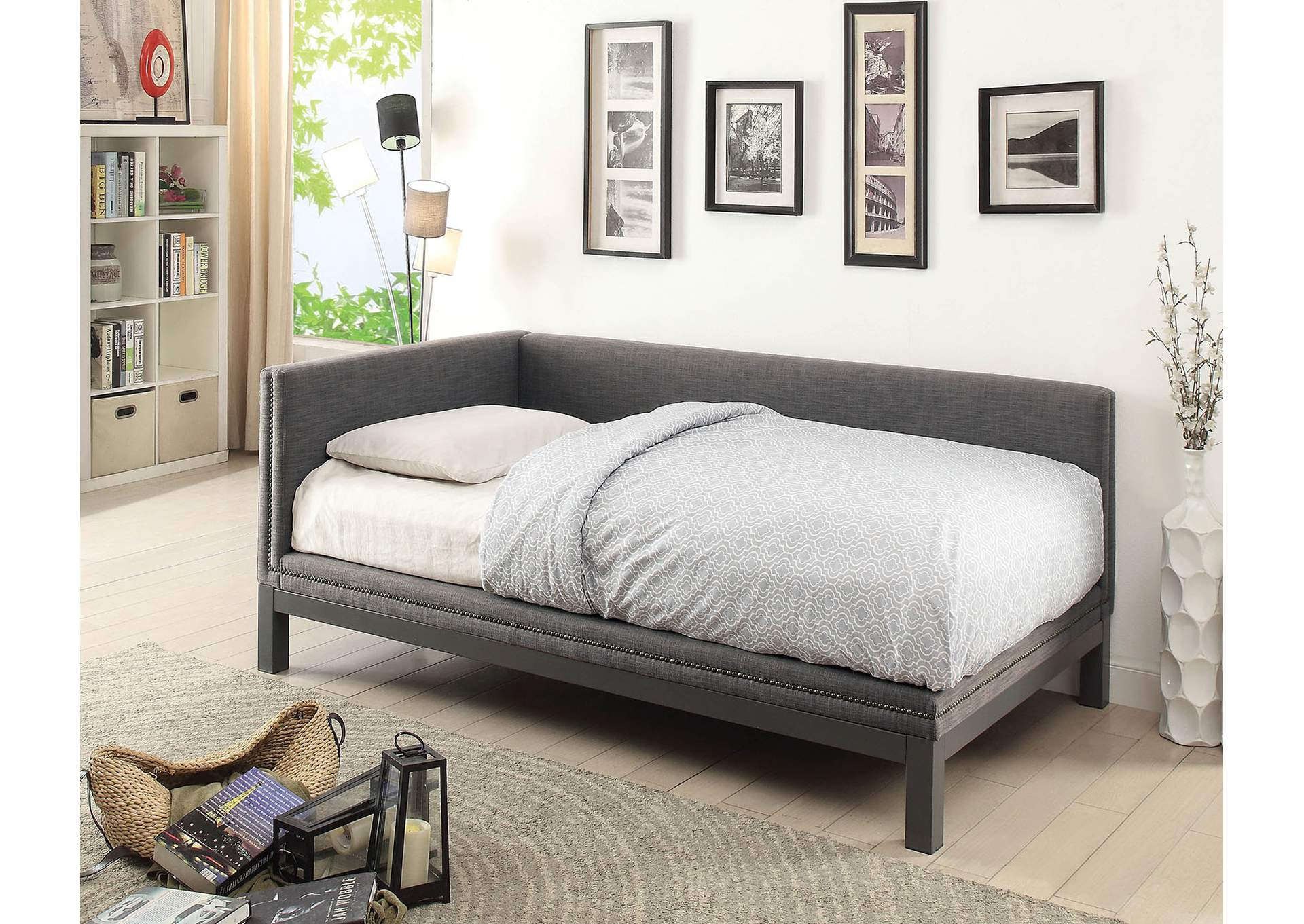 Kaitlynn Gray Twin Daybed,Furniture of America