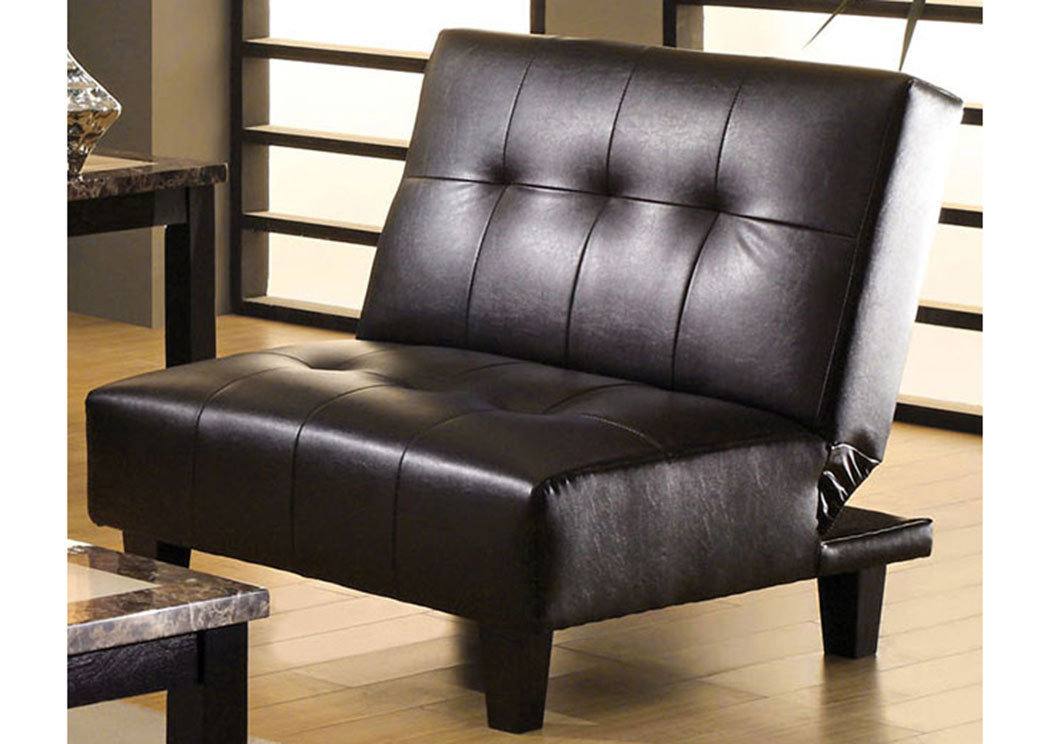 Belmont Espresso Leatherette Chair,Furniture of America