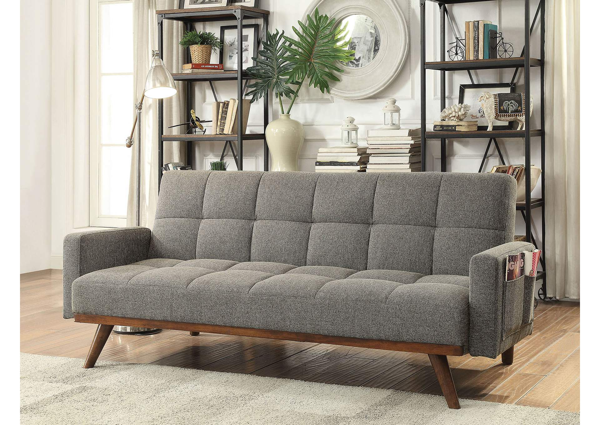 Nettie Futon Sofa,Furniture of America TX