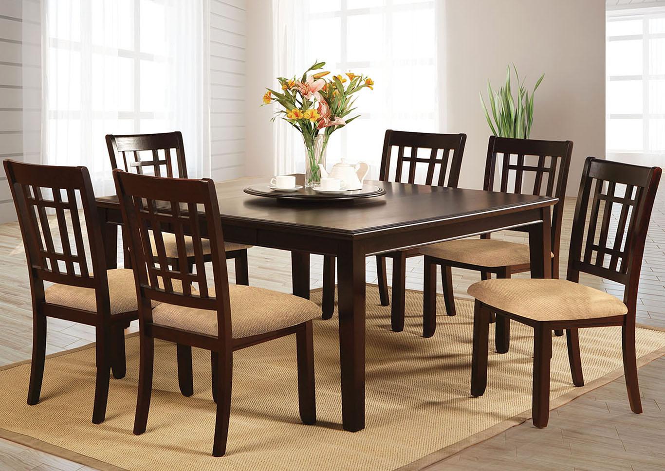 Squan Furniture Central Park L Extension Leaf Dining Table