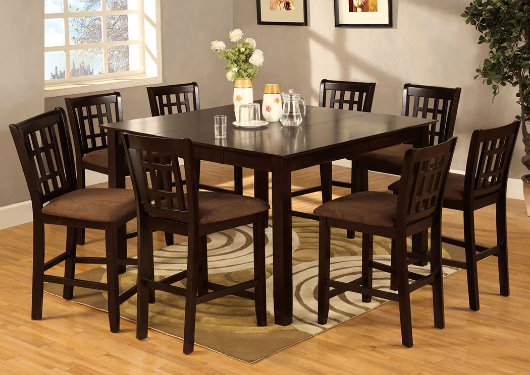 Counter Height Dining Set Seats 8