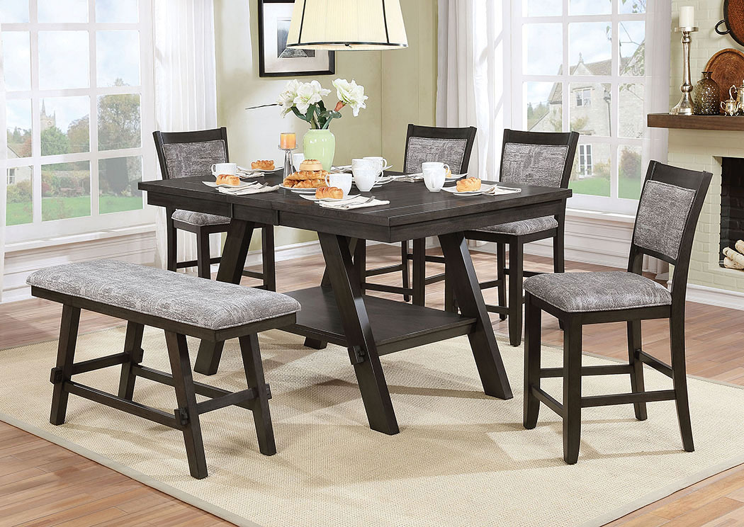 Tollerson Counter Height Table,Furniture of America