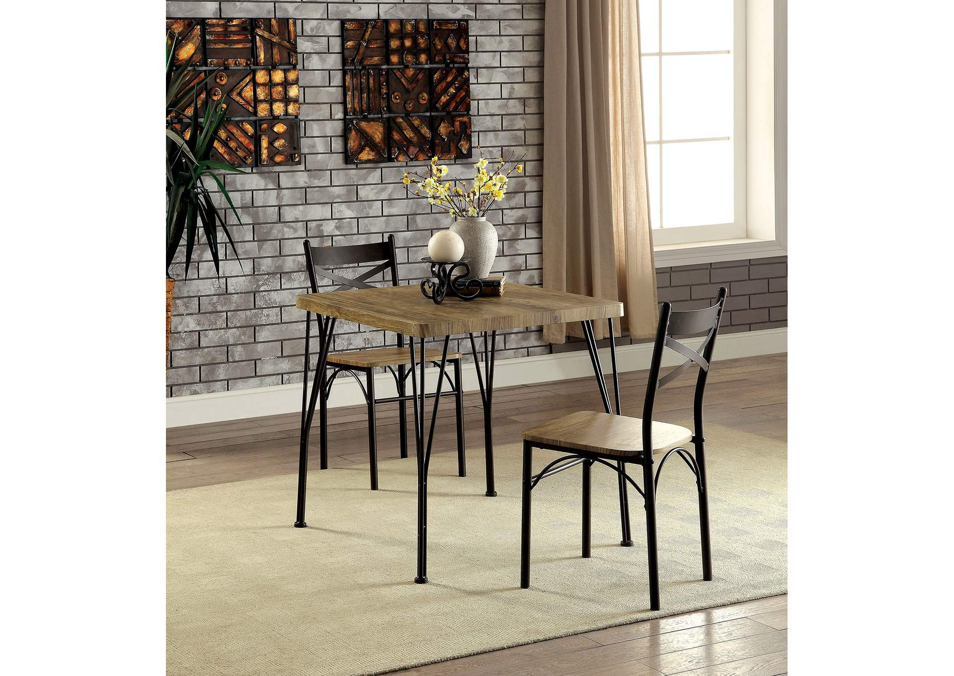 Foothills Family Furniture Slingsbury Gray/Dark Bronze 3 ...