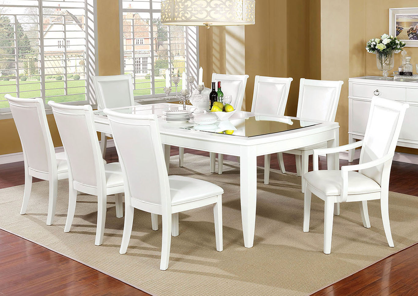 Madeline Dining Table,Furniture of America