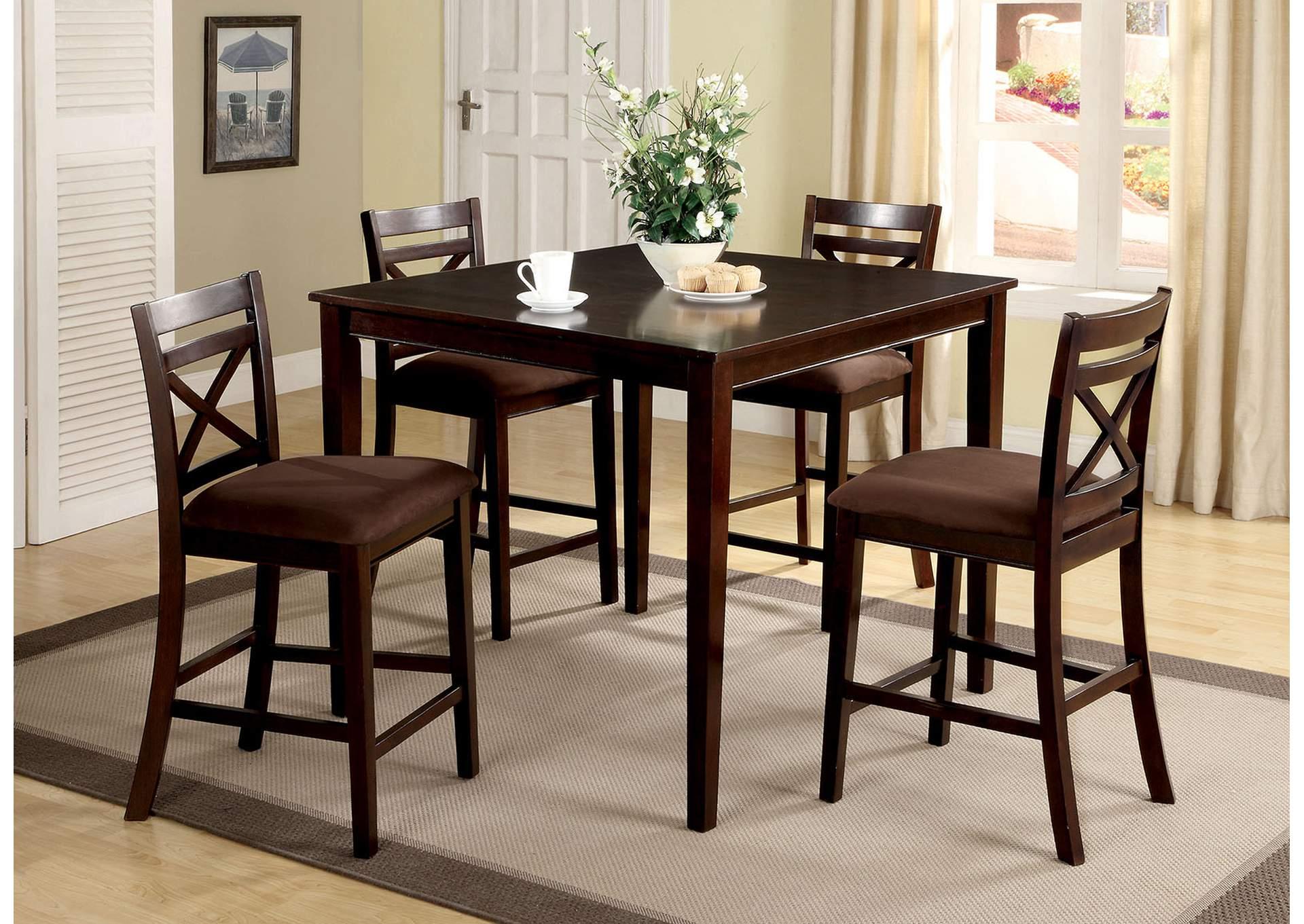 Wondrous Cohens Furniture New Castle De Weston L 5 Piece Counter Home Interior And Landscaping Ologienasavecom