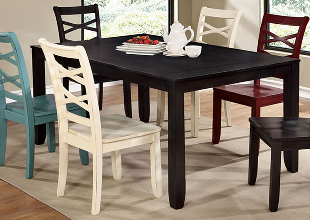 Giselle Espresso Dining Table,Furniture of America