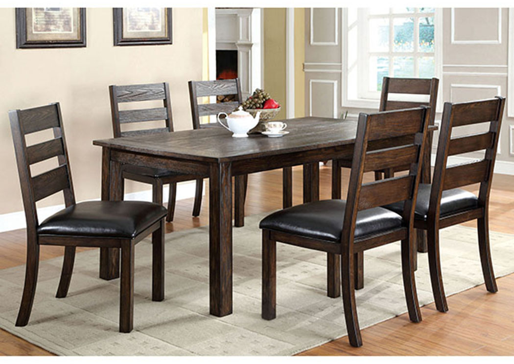 Magnificent Just Furniture Edmonton Dark Oak Dining Table Lamtechconsult Wood Chair Design Ideas Lamtechconsultcom