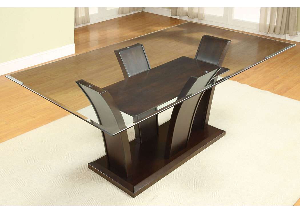 Furniture Ville - Bronx NY Manhattan l Rectangle Glass Top ...