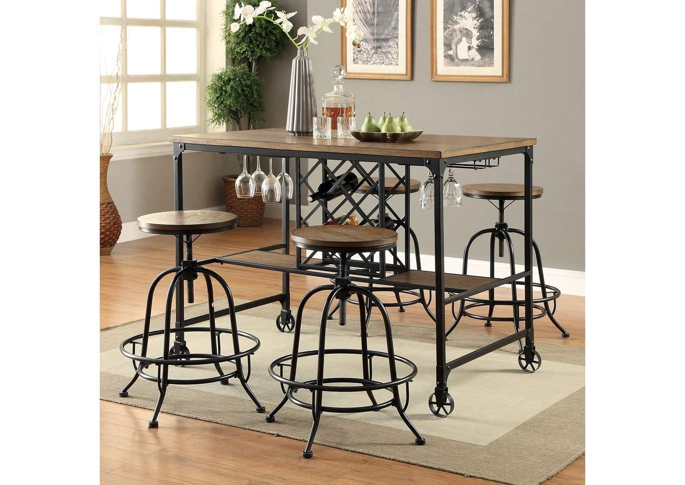 Remarkable 22 Furniture Gallery Silvia Medium Oak Counter Height Table Lamtechconsult Wood Chair Design Ideas Lamtechconsultcom