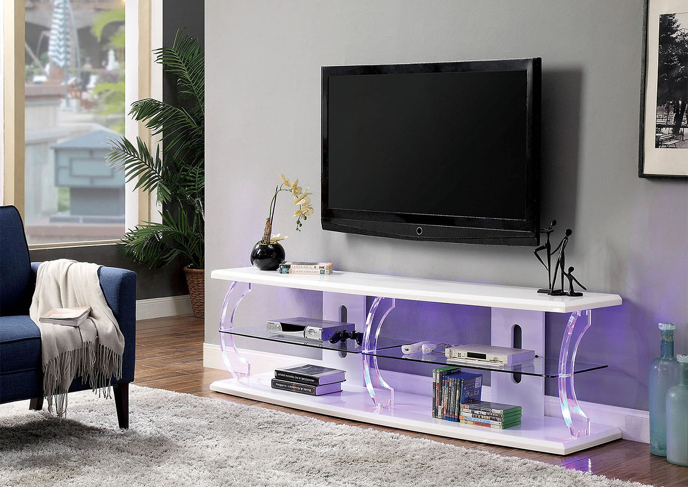 "Ernst 60"" Tv Stand,Furniture of America"