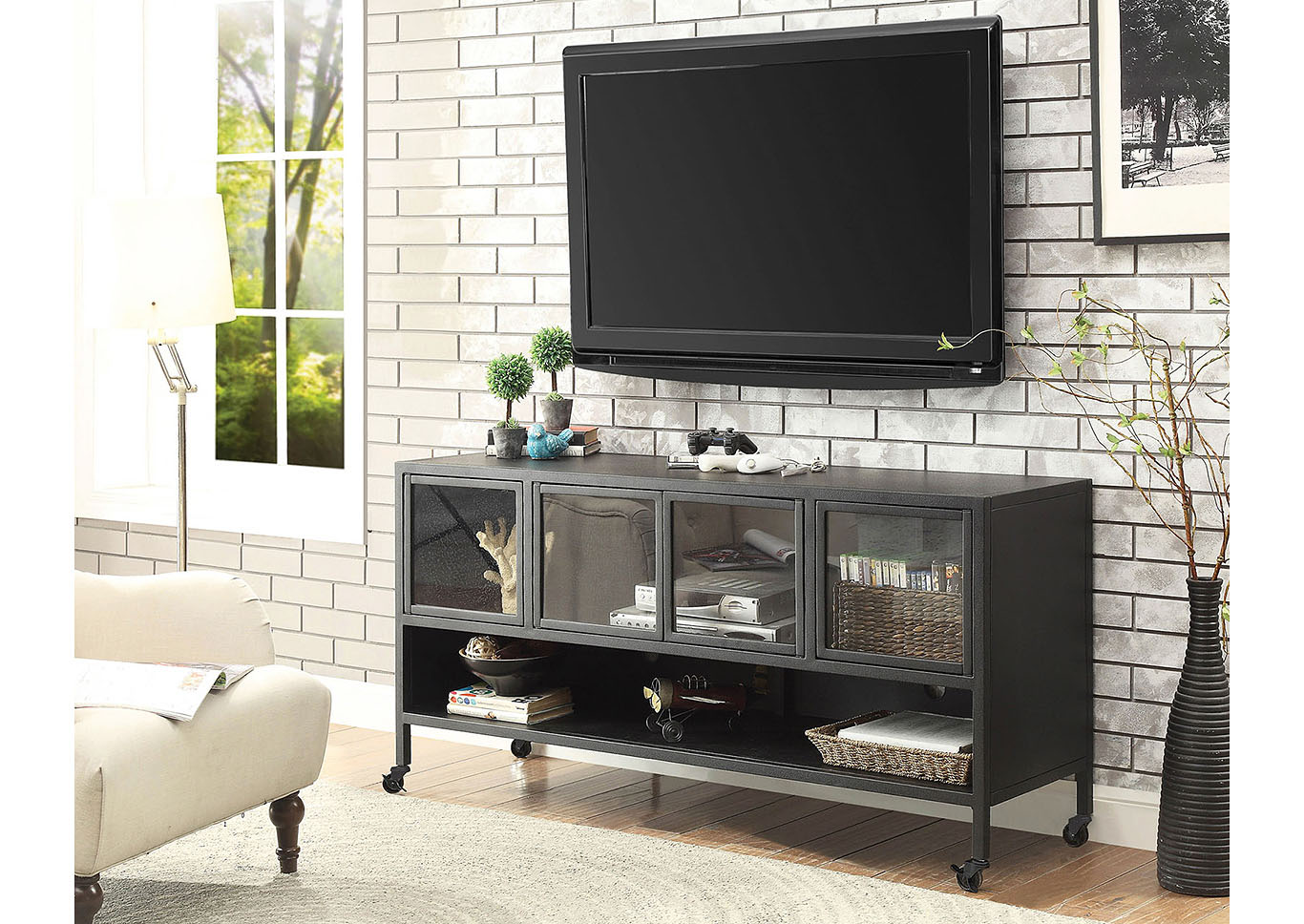 Best Buy Furniture And Mattress Edvin 60 Tv Stand