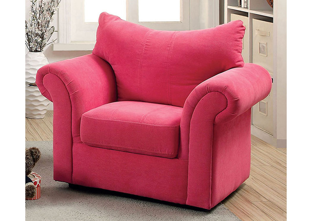 Fabulous Furniture Express Hawaii Irma Pink Curved Back Kids Arm Chair Caraccident5 Cool Chair Designs And Ideas Caraccident5Info