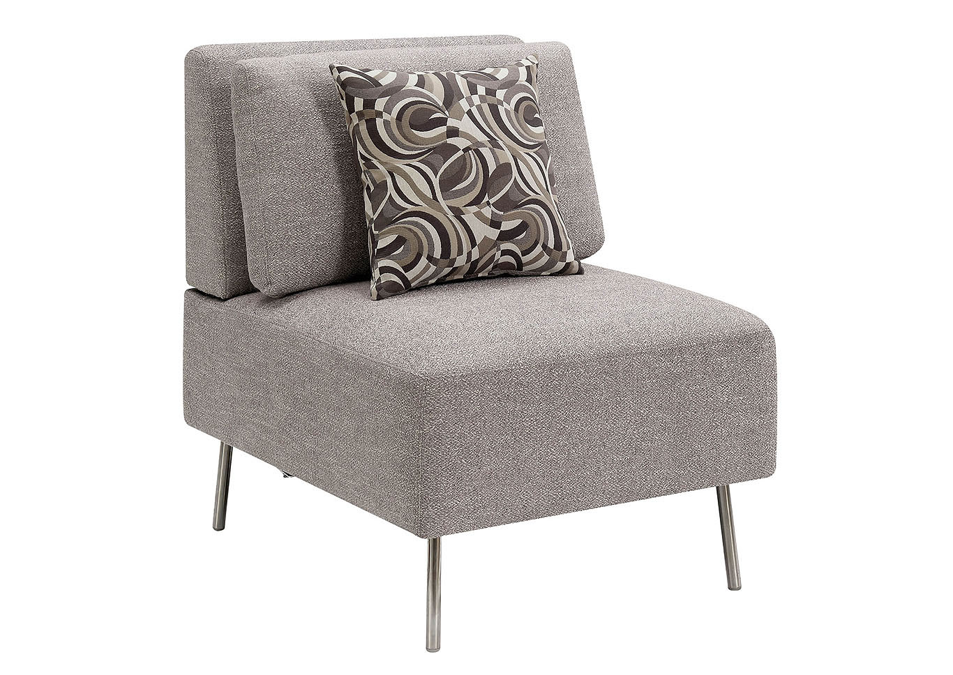 Gray Armless Furniture