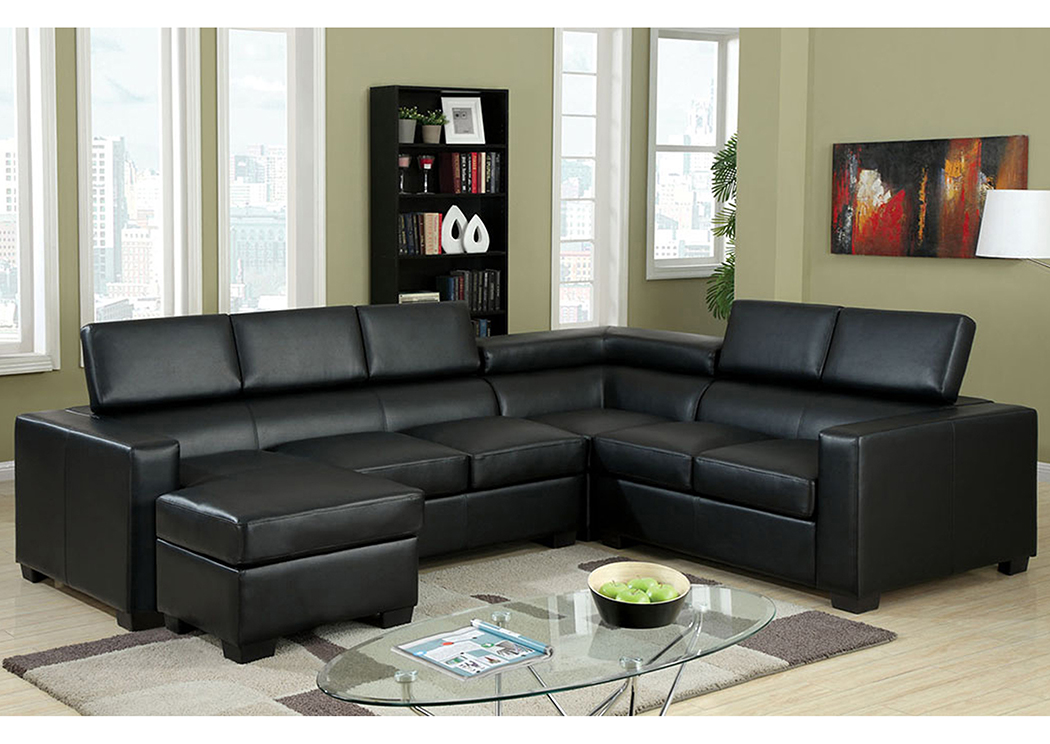 Fine Factory Expo Furniture Serres Black Bonded Leather Match Camellatalisay Diy Chair Ideas Camellatalisaycom