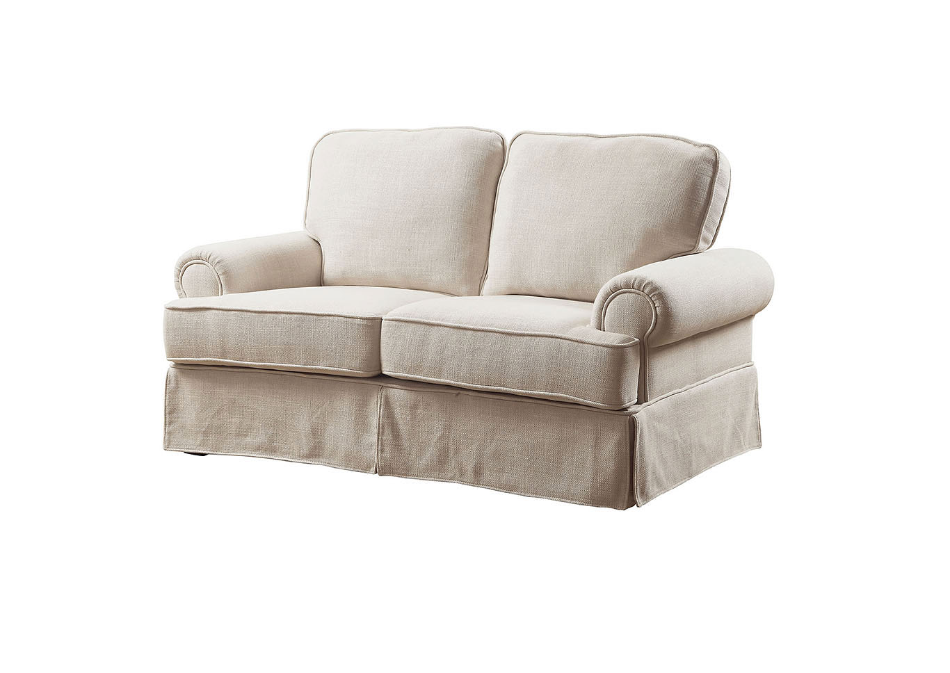 Badalona I Beige Loveseat,Furniture of America