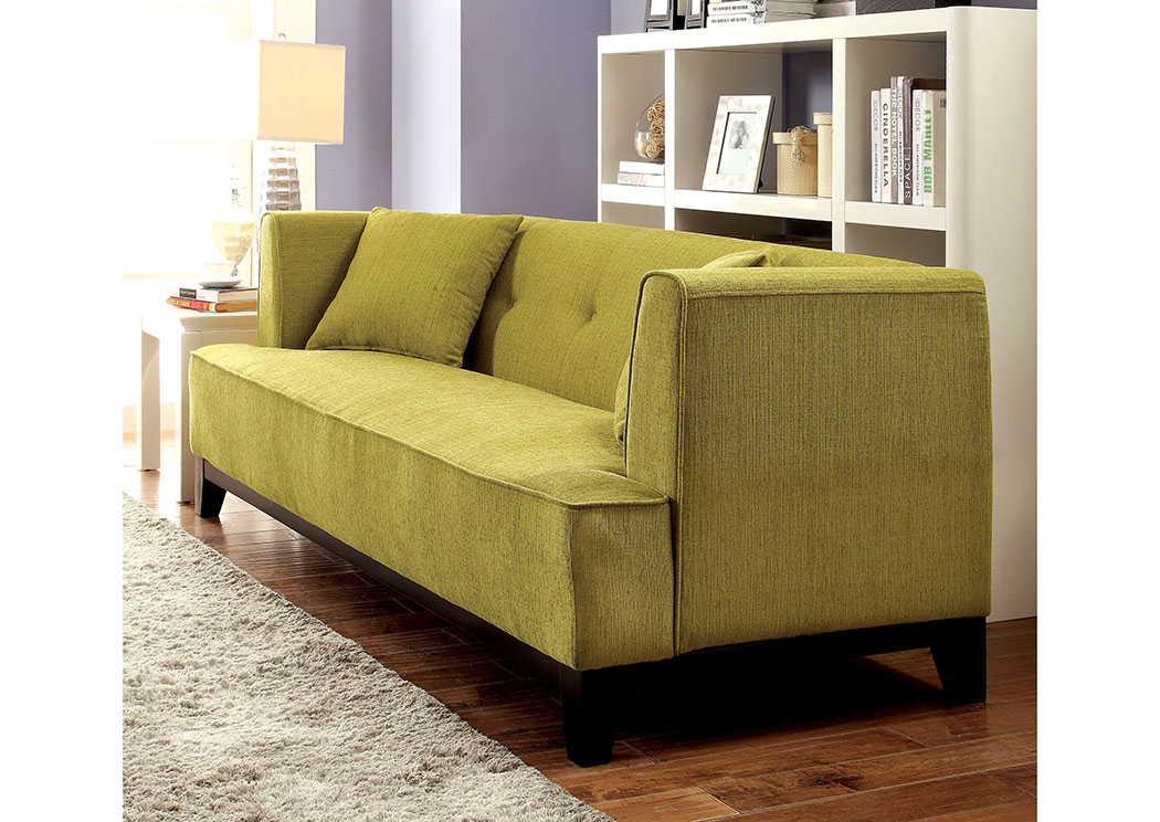Sofia Lemongrass Loveseat,Furniture of America