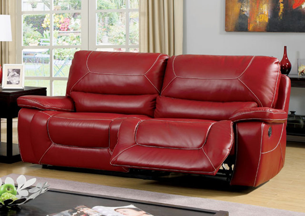 Magnificent Foothills Family Furniture Newburg Red Two Recliner Sofa Pabps2019 Chair Design Images Pabps2019Com