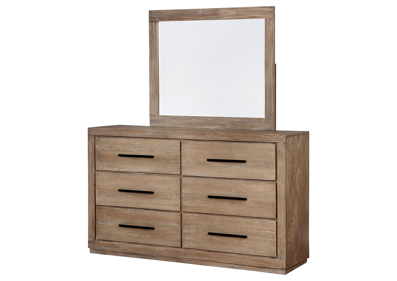 Oakburn Tan Dresser,Furniture of America