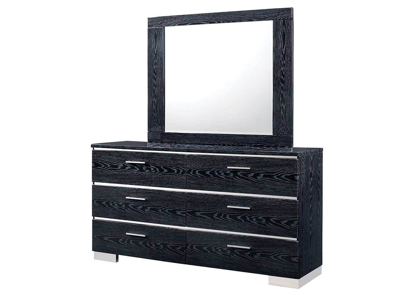 Malte Black Dresser,Furniture of America