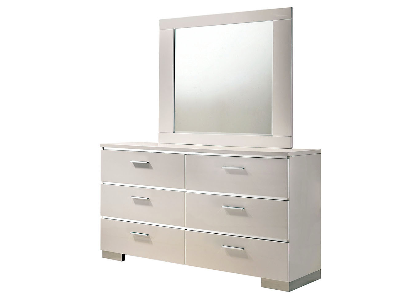 Malte White Dresser,Furniture of America