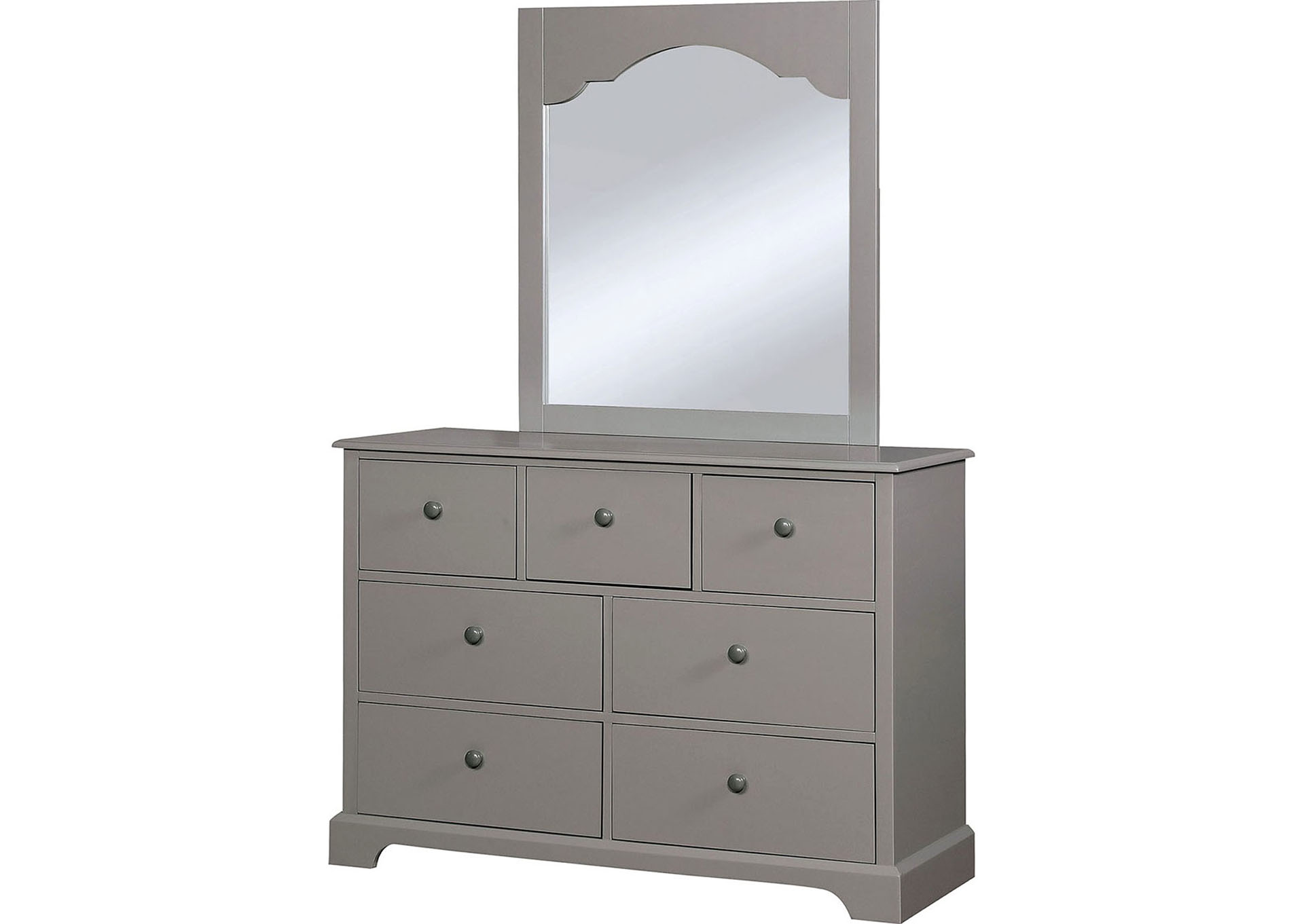Dian Gray Mirror,Furniture of America