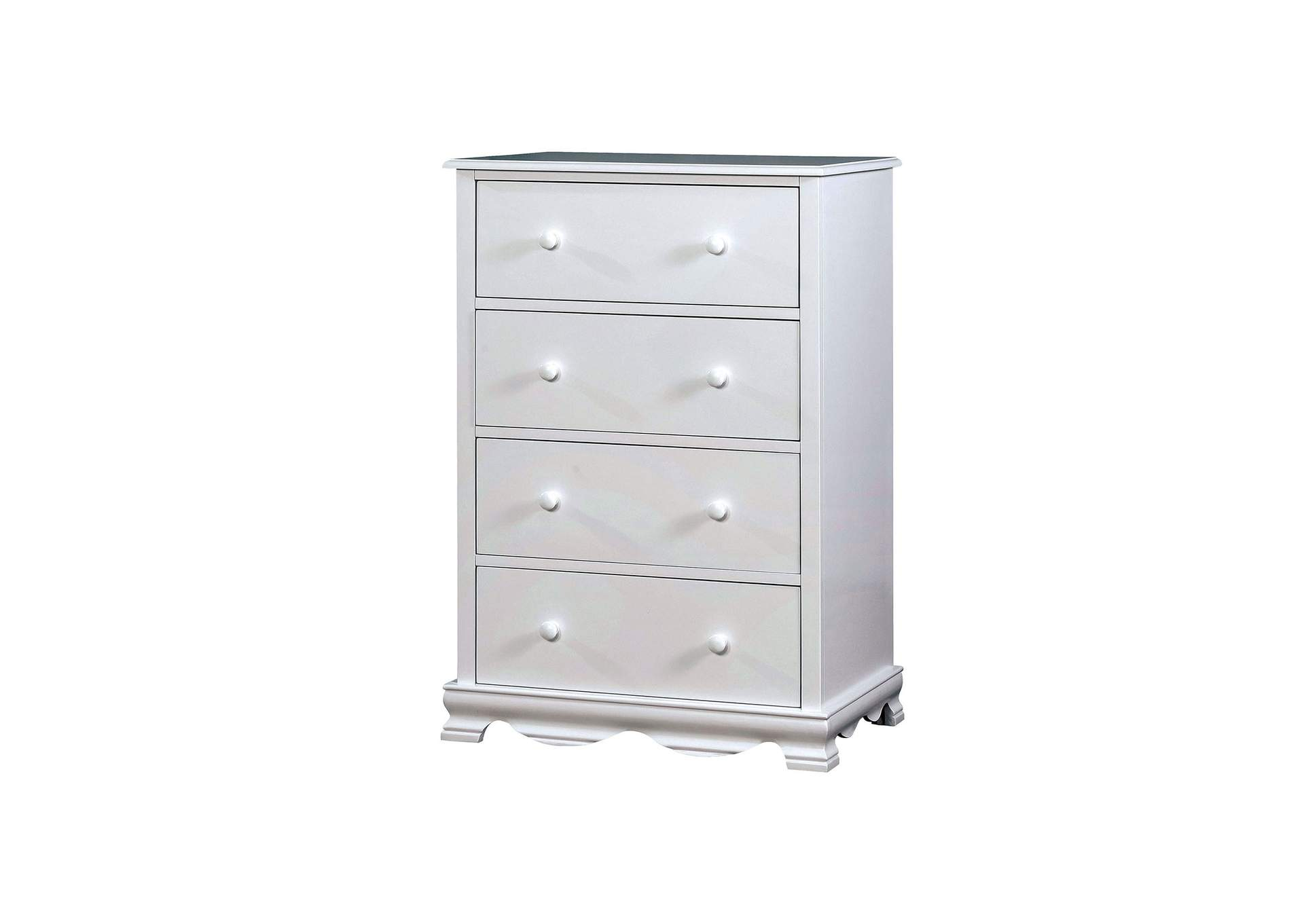 Dani White Chest,Furniture of America