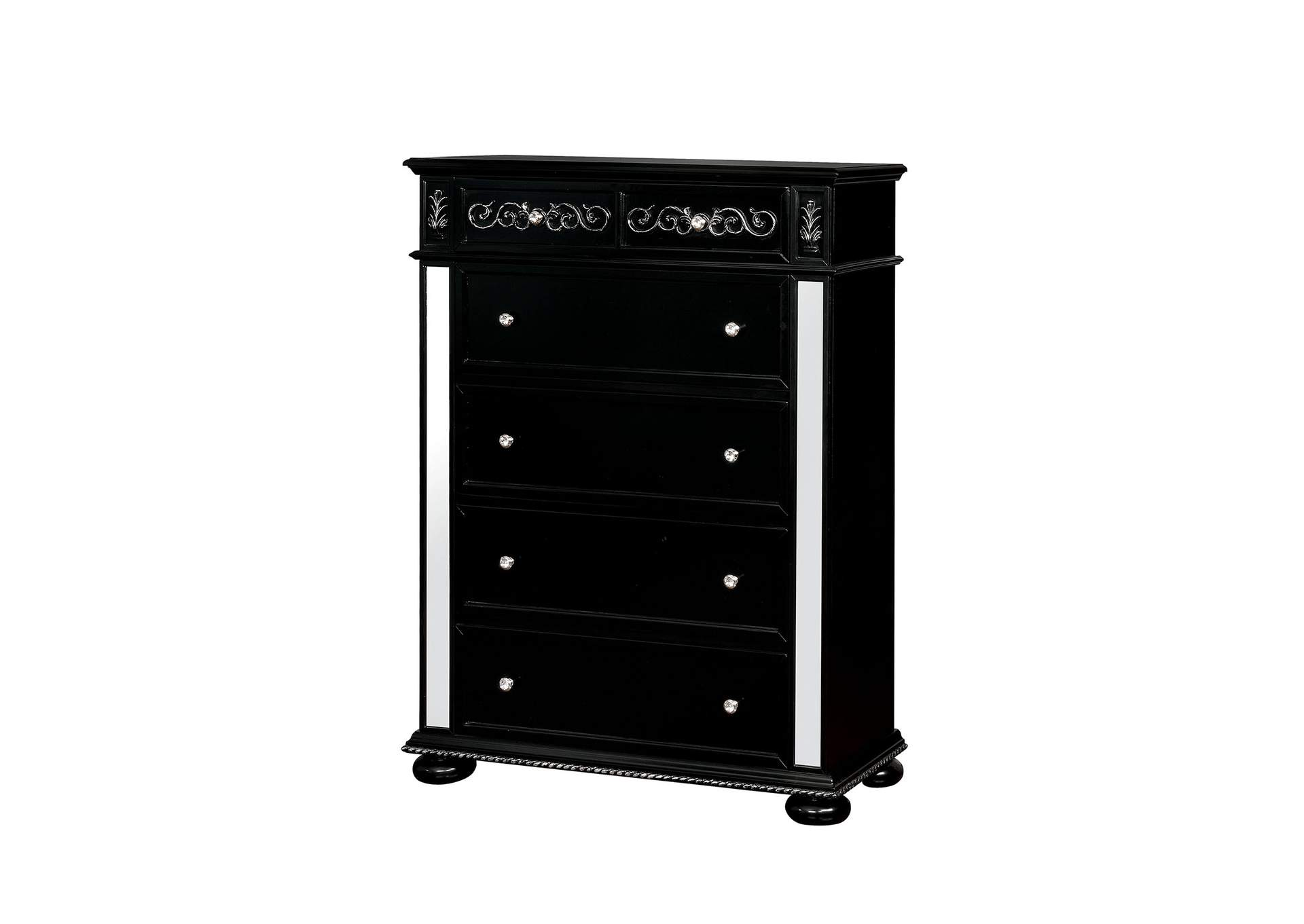 Azha Black Chest,Furniture of America