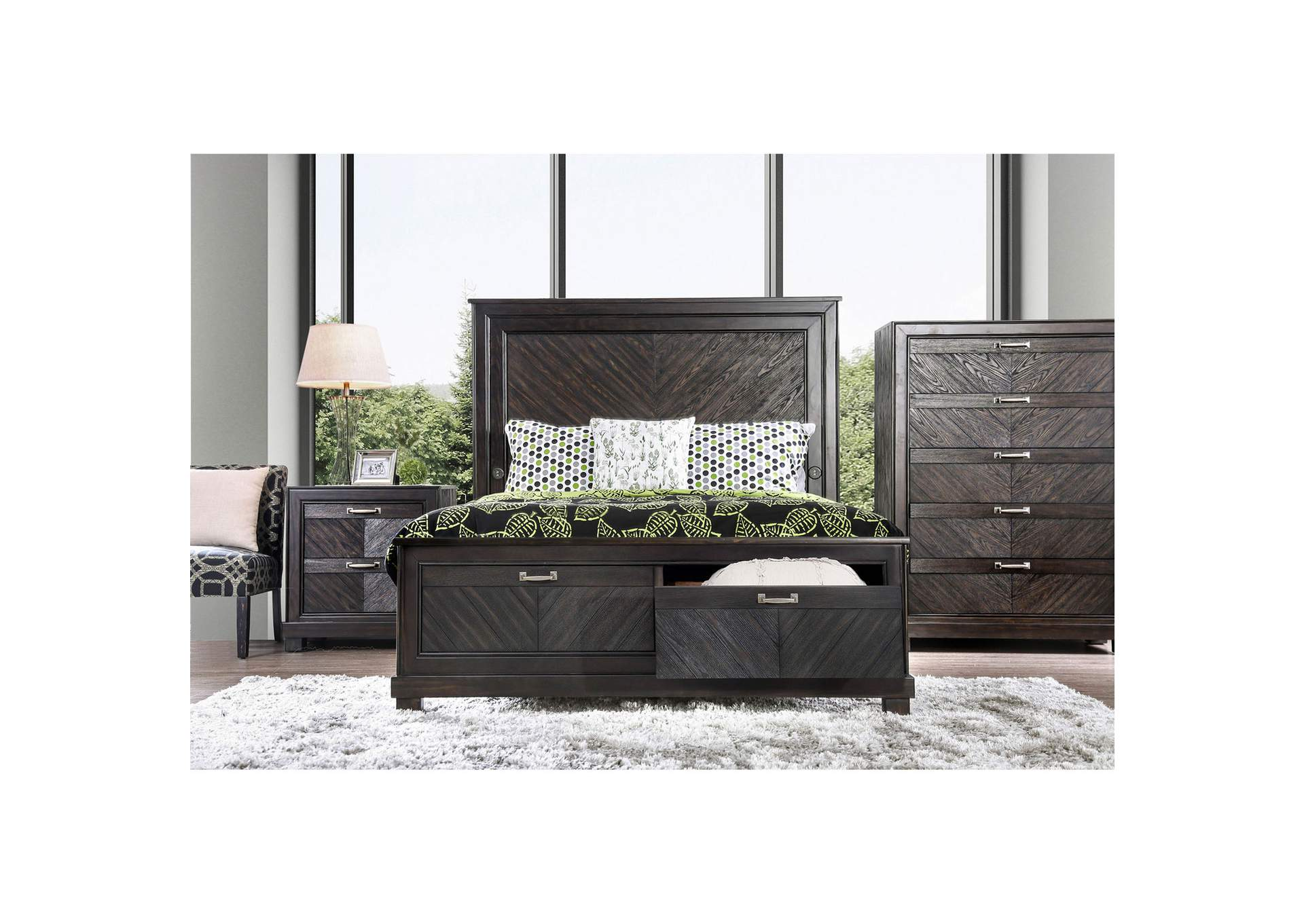Argyros Dresser w/Mirror,Furniture of America