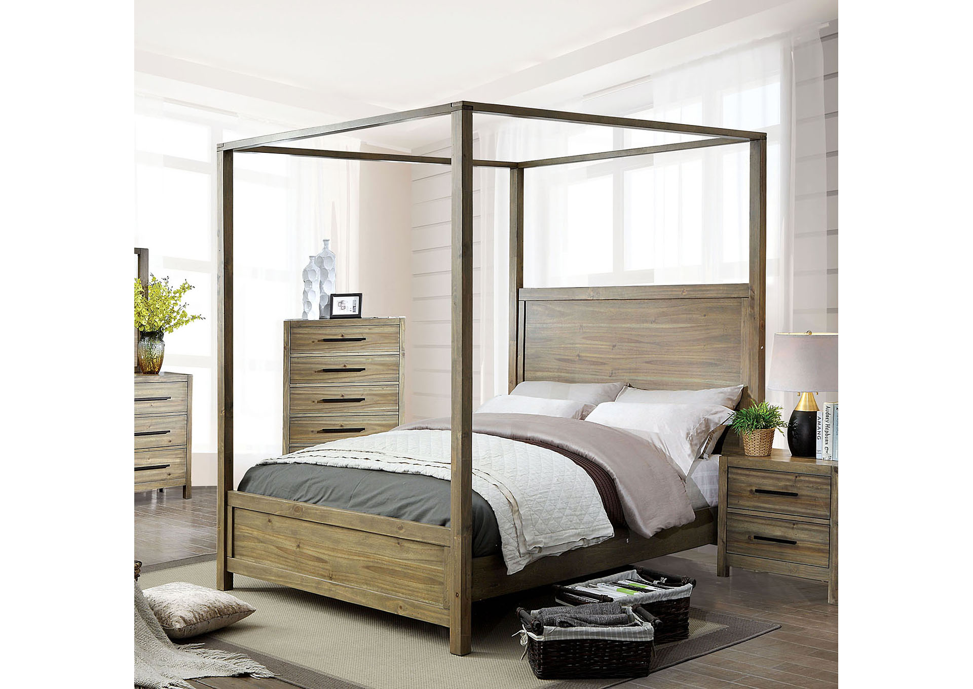 Garland Queen Bed,Furniture of America