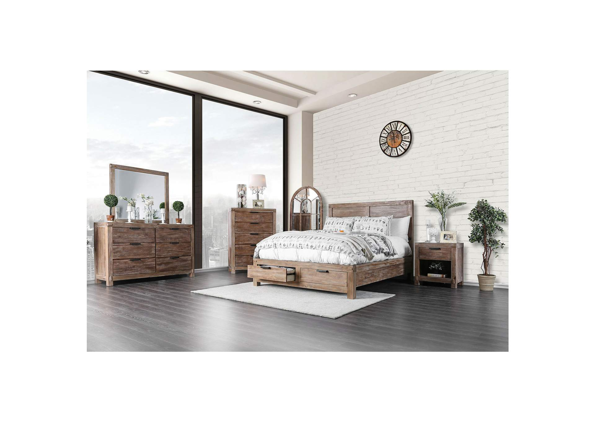 Queen Bed,Furniture of America