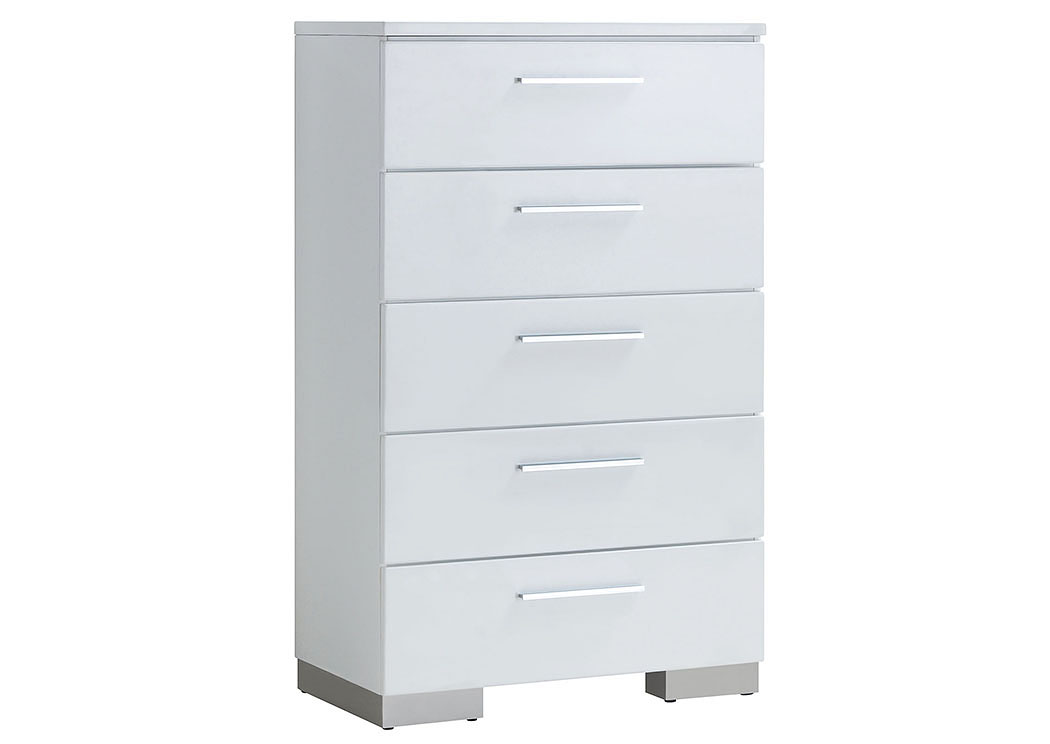 Christie White Chest,Furniture of America