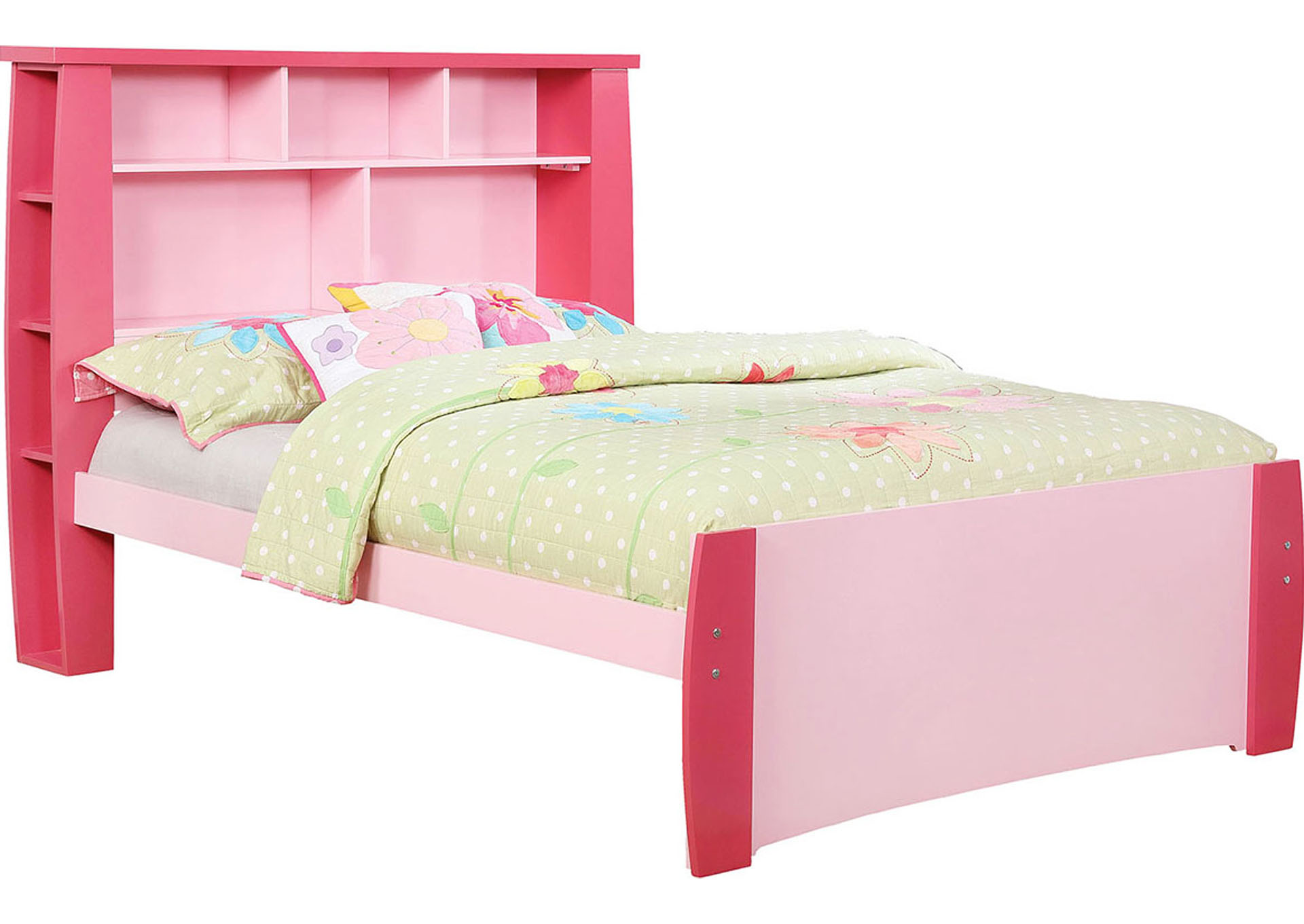Marlee Pink Full Bed,Furniture of America