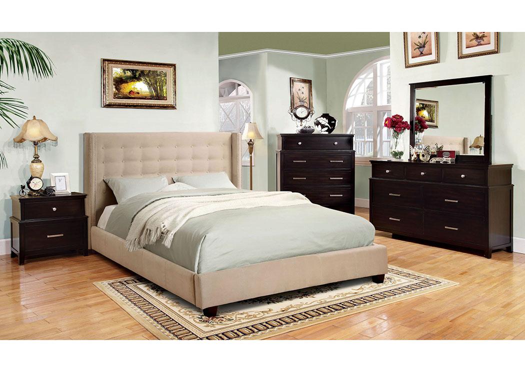 Renaissance | Philadelphia, PA Artemis Ivory Queen Platform Bed