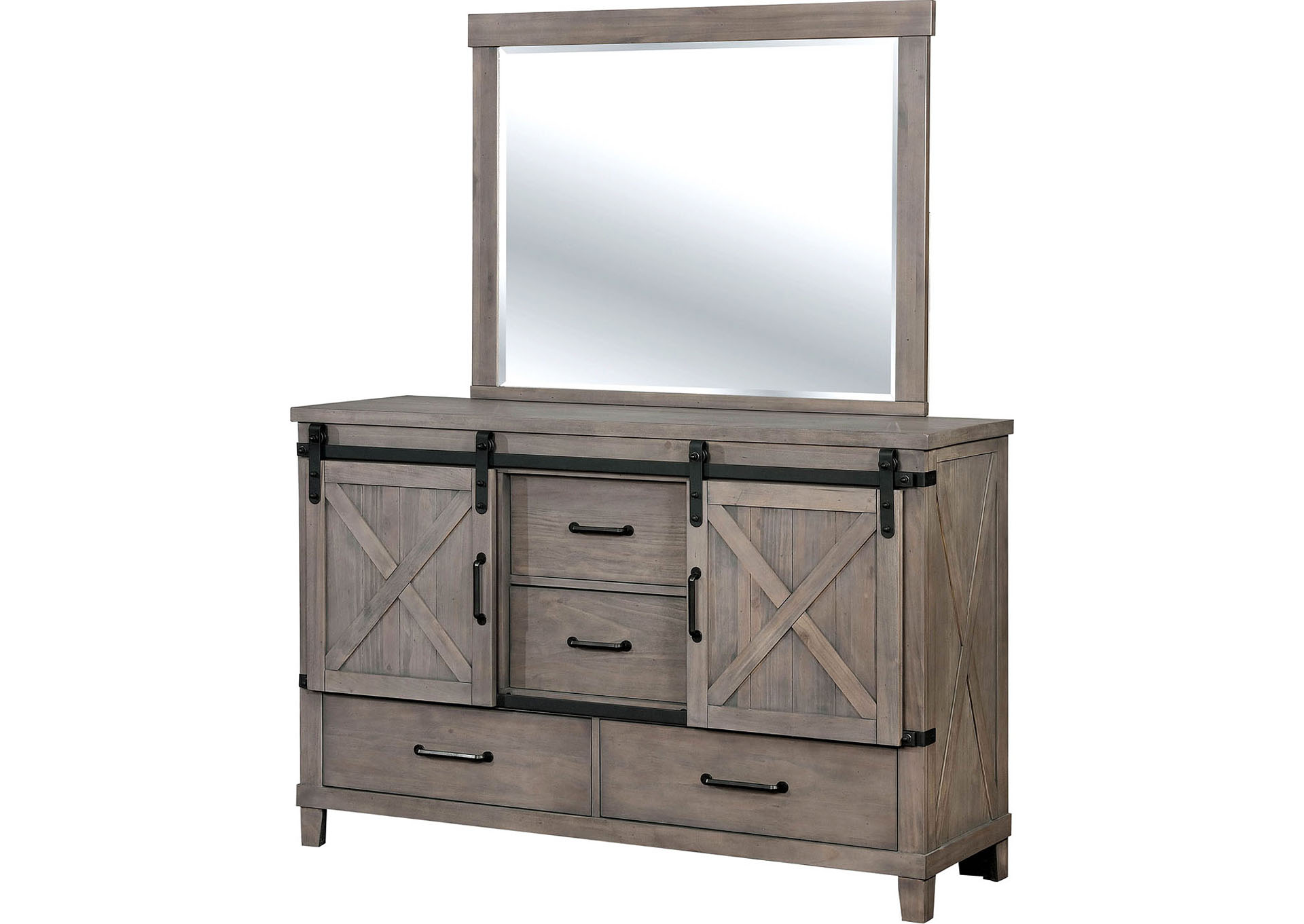 Bianca Dresser w/Mirror,Furniture of America