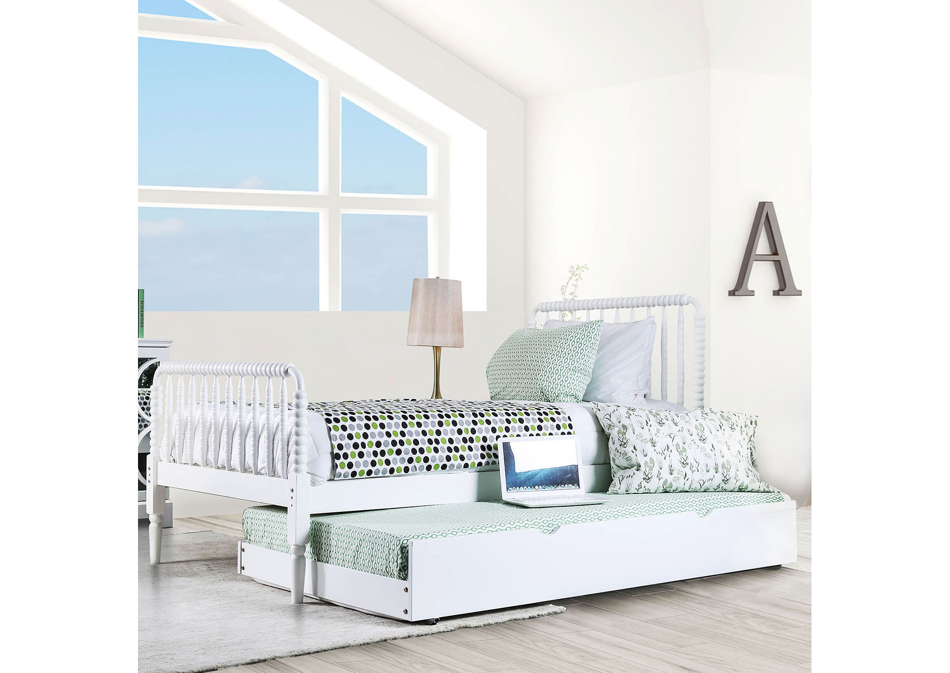 Foothills Family Furniture Jenny White Full Lind Bed